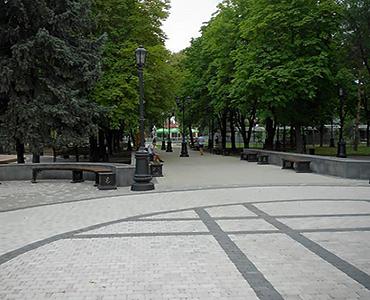 Сквер Дружбы Народов г. Краснодар март 2019г
